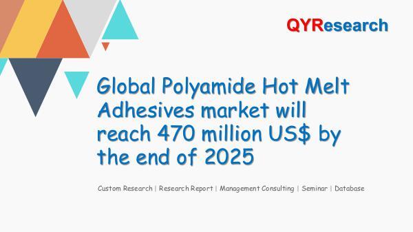Global Polyamide Hot Melt Adhesives market