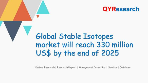 Global Stable Isotopes market research
