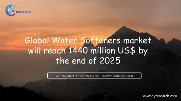 Global Water Softeners market research