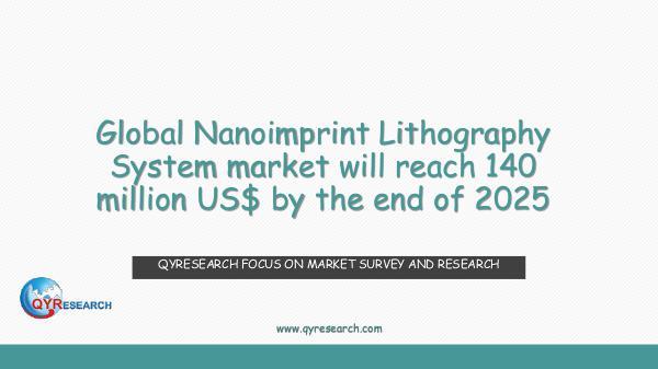 Global Nanoimprint Lithography System market