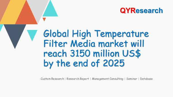 Global High Temperature Filter Media market