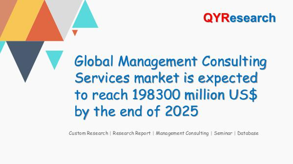 QYR Market Research Global Management Consulting Services market