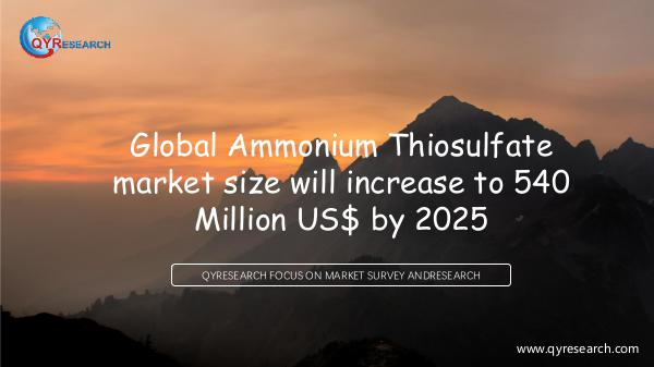 Global Ammonium Thiosulfate market research