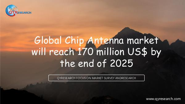 QYR Market Research Global Chip Antenna market research