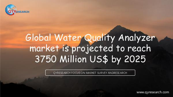 QYR Market Research Global Water Quality Analyzer market research