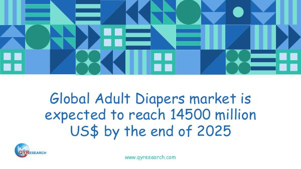 QYR Market Research Global Adult Diapers market research