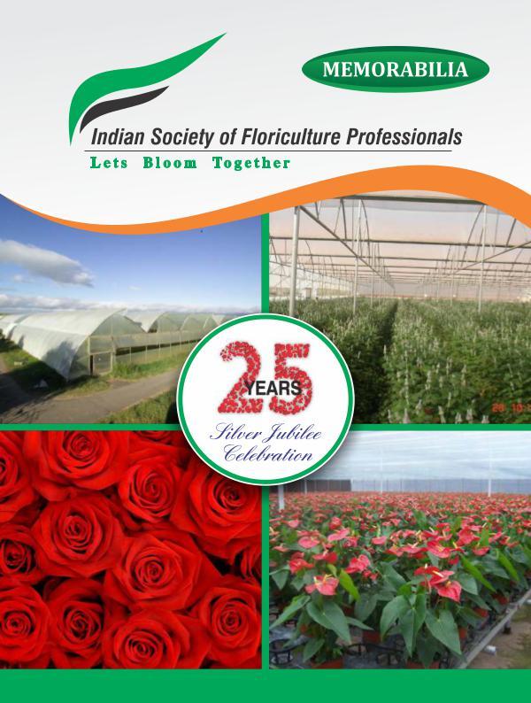 Silver Jubilee Of Indian Floriculture Series -1 ISFP Memorabilia