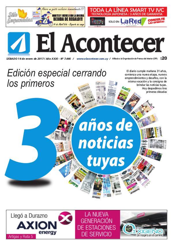 El Acontecer ElAcontecer Separata30años 7446 14/01/2017