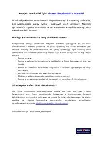 Biuro nieruchomości w Poznaniu 2013-09-18