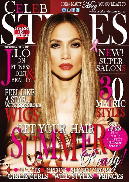 Celeb Styles magazine September/October, 2014