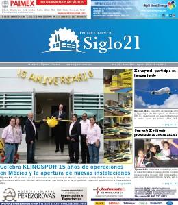 Siglo 21 Periódico Industrial 384