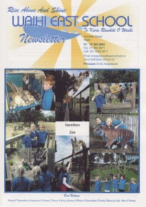 East School Newsletters term 3 2013. 28 August 2013.