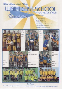 East School Newsletters term 3 2013. 4th September 2013.