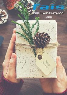 Fais Joululahjakatalogi 2018