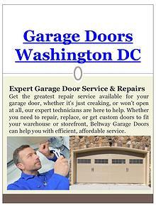 Garage Door Replacement Washington DC