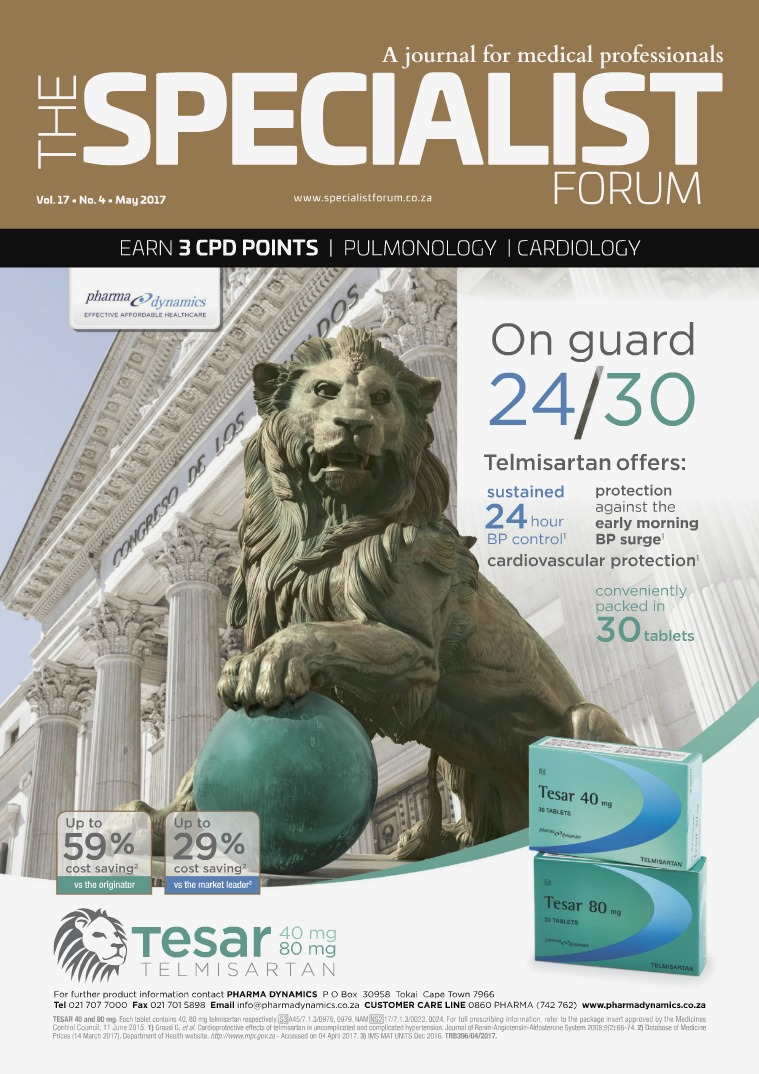 The Specialist Forum May 2017