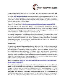 Light Dental Chair Market - Global Industry Analysis, Size, Share