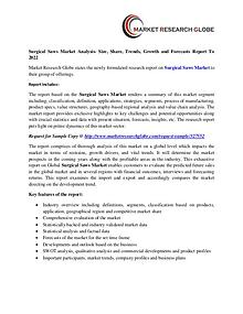Surgical Saws Market Analysis- Size, Share, Trends, Growth