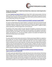 Desktop Laser Engraver Market Size, Share, Analysis, Industry Demand