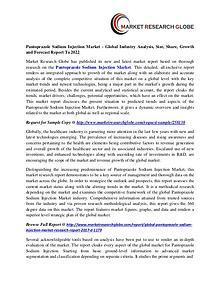 Pantoprazole Sodium Injection Market 2022 Technology, Type
