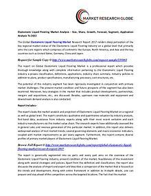 Elastomeric Liquid Flooring Market Size, Share, Analysis, Industry