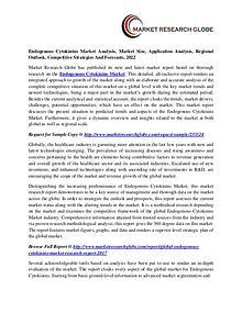 Endogenous Cytokinins Market - Industry Analysis, Size, Trend,