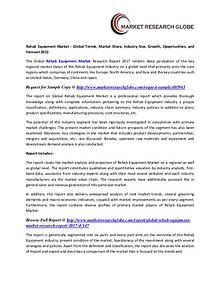 Rehab Equipment Market - Global Trends