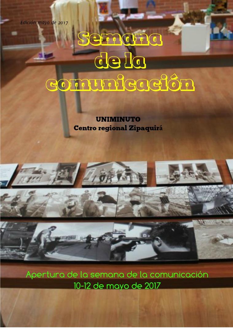Semana de la comunicación Revista semana de la comunicación