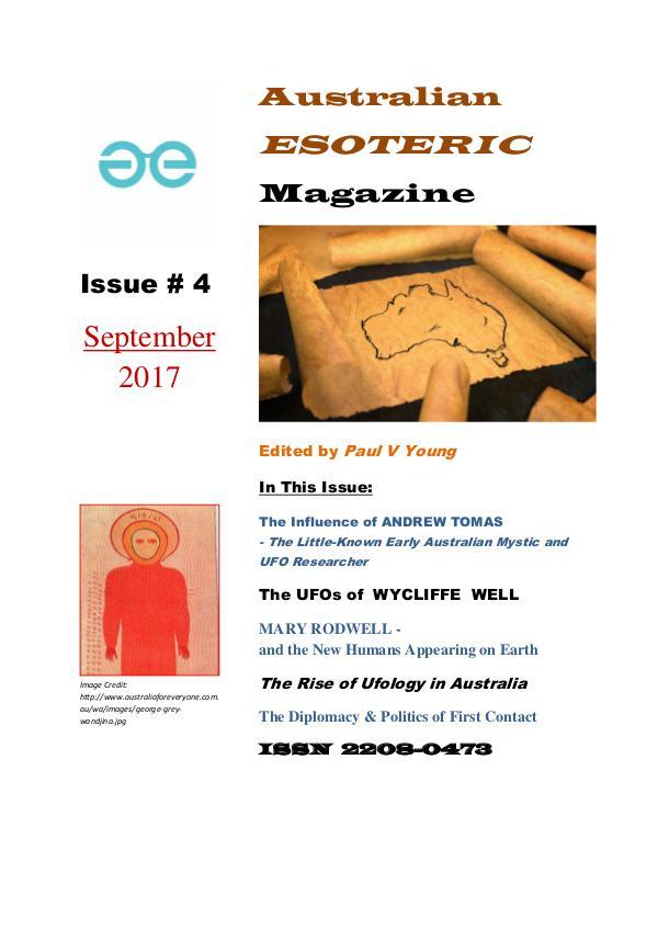 Australian Esoteric Australian Esoteric Issue 4