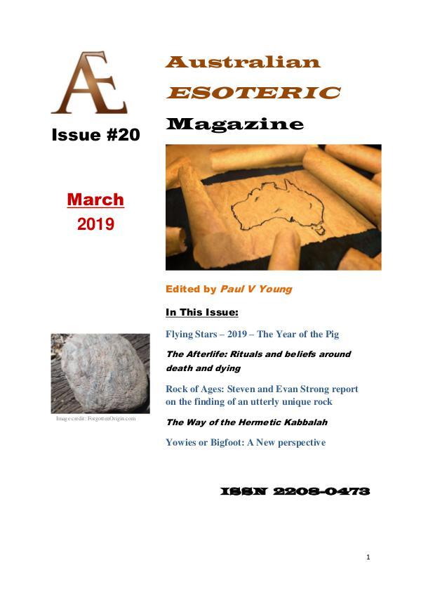 Australian Esoteric Issue 20