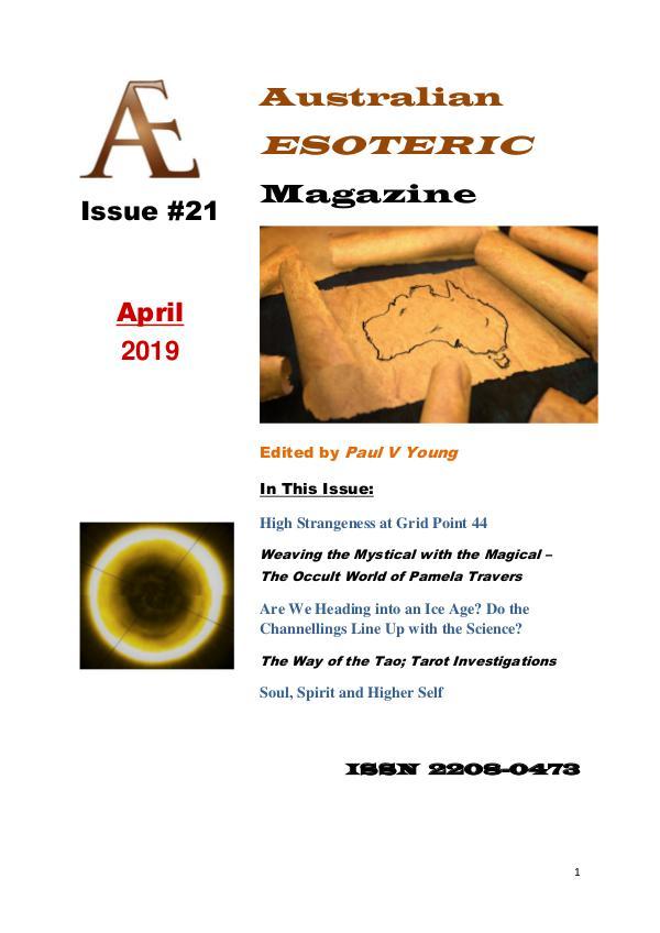 Australian Esoteric Issue 21