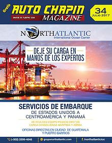 Auto Chapín Magazine 34 Julio 2017