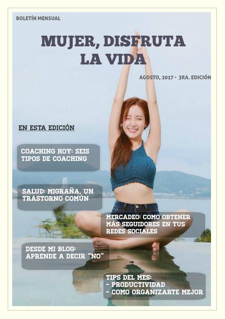 Jessica Life Coach Edición de Agosto
