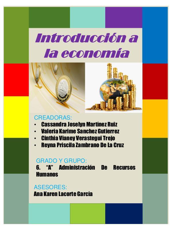 REVISTA ECONOMÍA Revista de economia