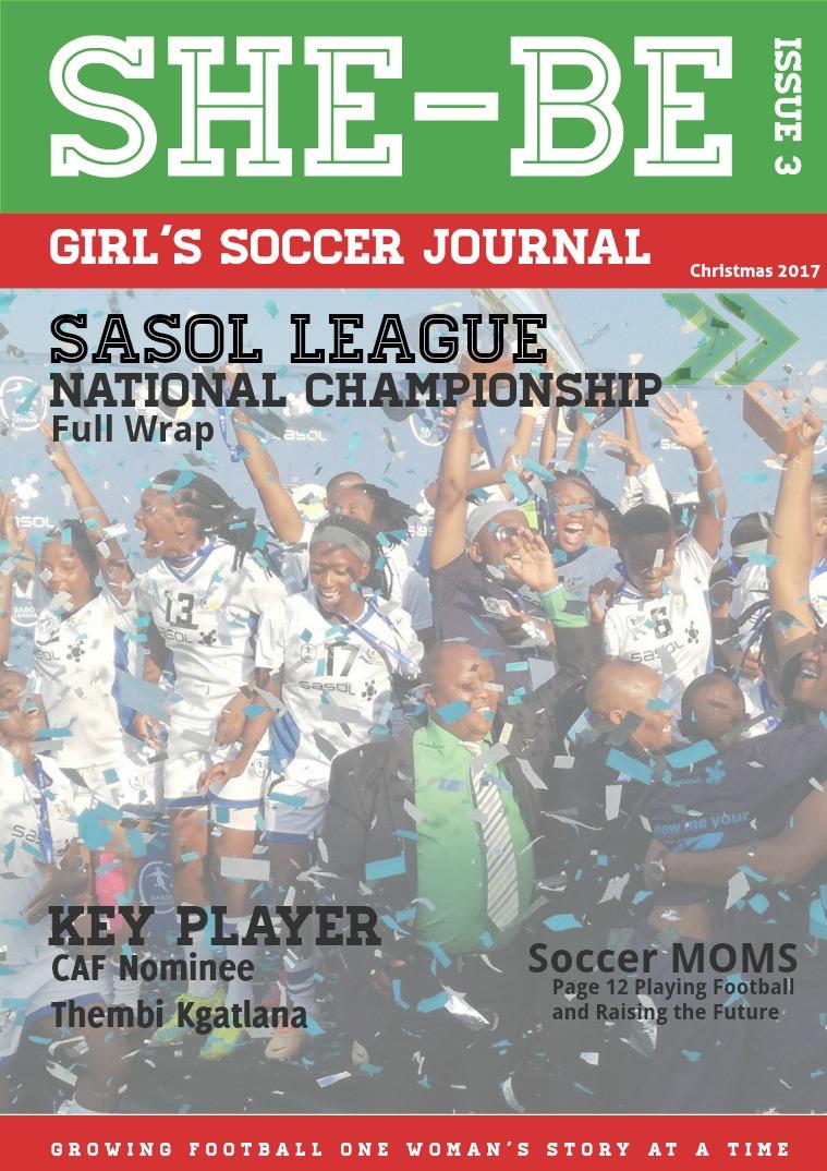 SHE-BE Girl's Soccer Journal Issue 3