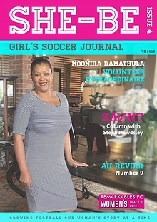 SHE-BE Girl's Soccer Journal