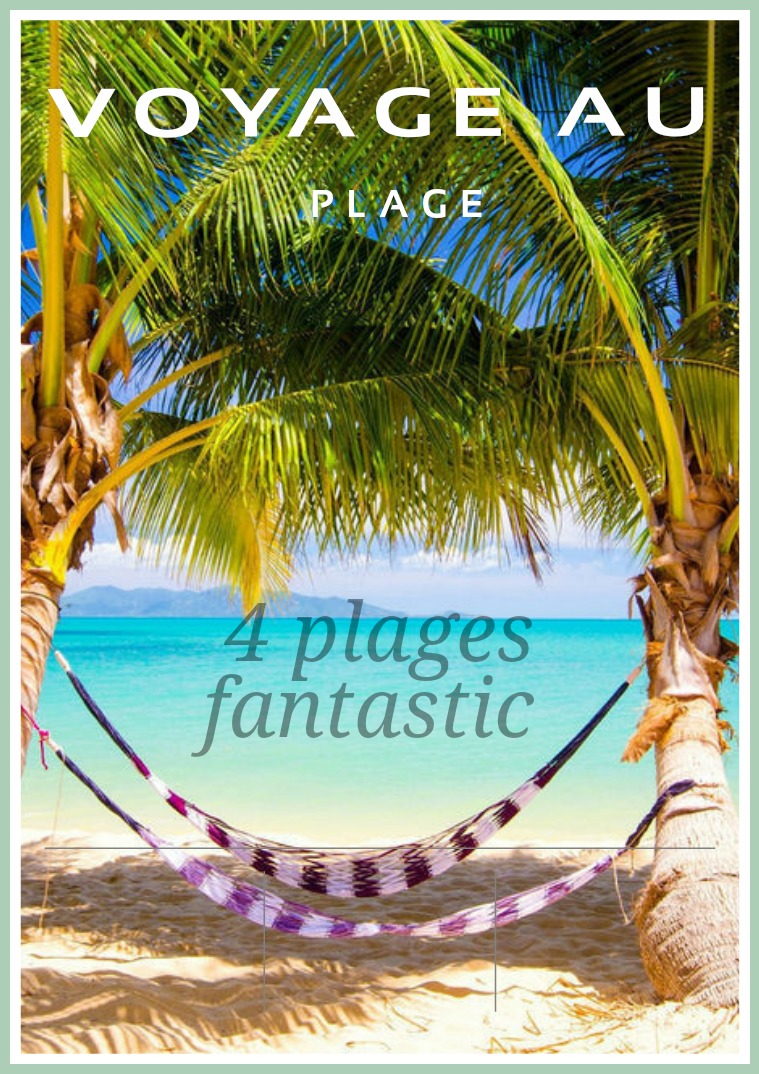 My first Magazine Voyage au Plage