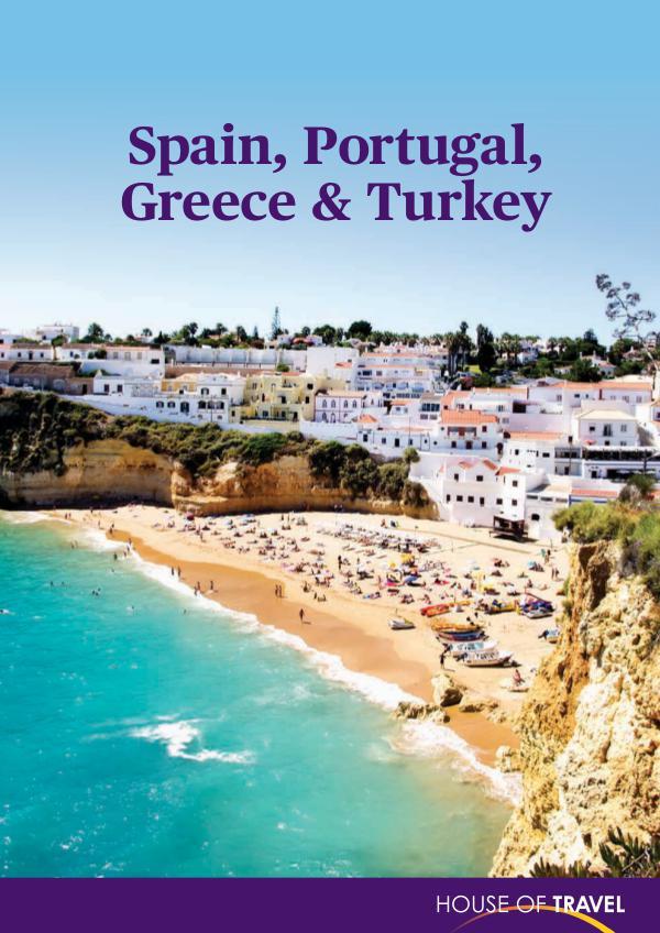 House of travel Spain, Portugal, Greece & Turkey 2017