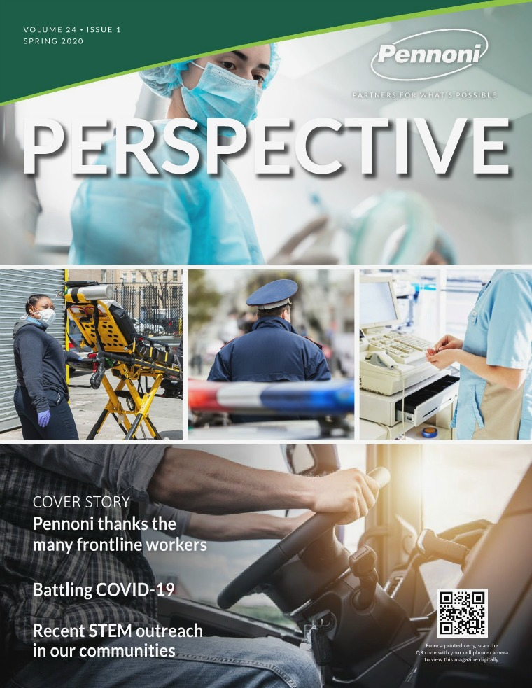 Pennoni Perspective Volume 24 • Issue 1 •  Spring 2020