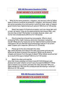 BSS 482 MENTOR Great Stories Here/bss482mentor.com