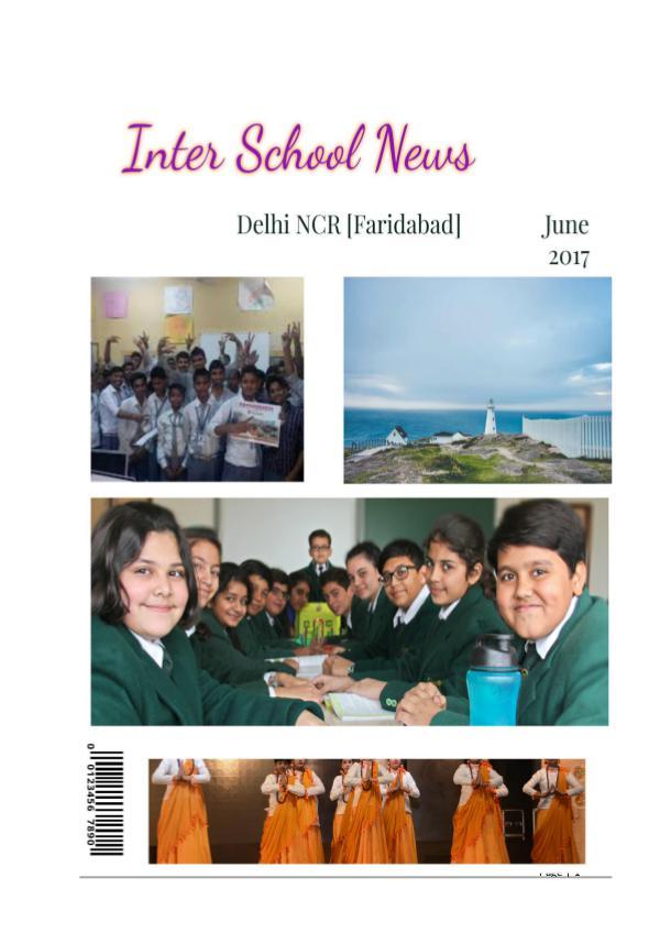 My first Magazine Interschool achievers Faridabad and Delhi NCR