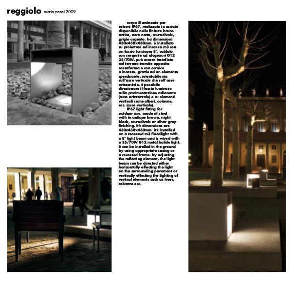 Viabizzuno by Cirrus Lighting - Architectural Lighting Range Reggiolo Exterior Fitting.  from Cirrus Lighting