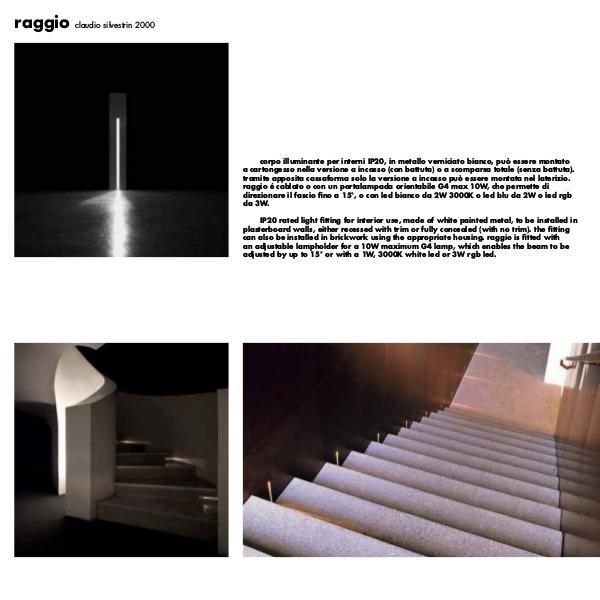 Raggio Recess Wall Light by Cirrus Lighting