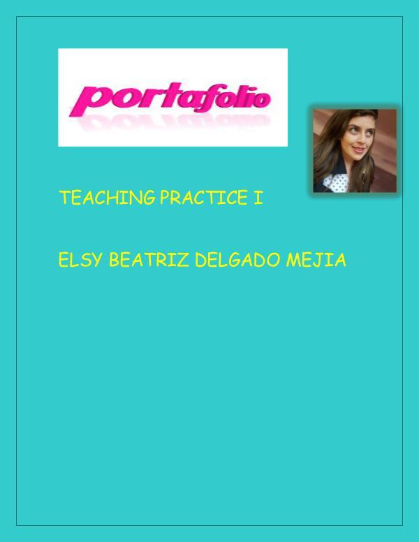 My portafolio Elsy. MY PORTAFOLIO ELSY NEW