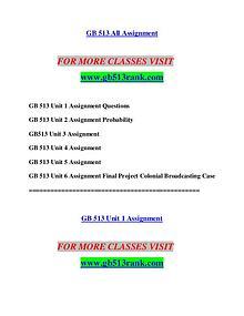 GB 513 RANK Let's Do This /gb513rank.com