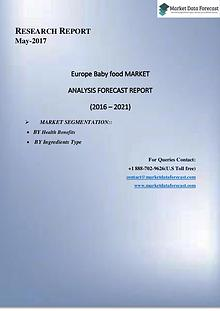 Current Trends in  Europe Frozen Bakery Products Market  Market 2016-