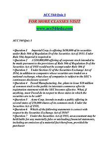 ACC 544 EDU Motivated Minds/acc544edu.com