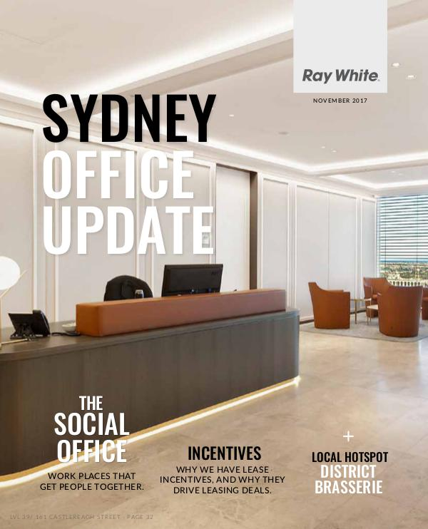 Sydney Office Update Sydney Office Update November Edition