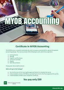 Certificate in MYOB Accounting