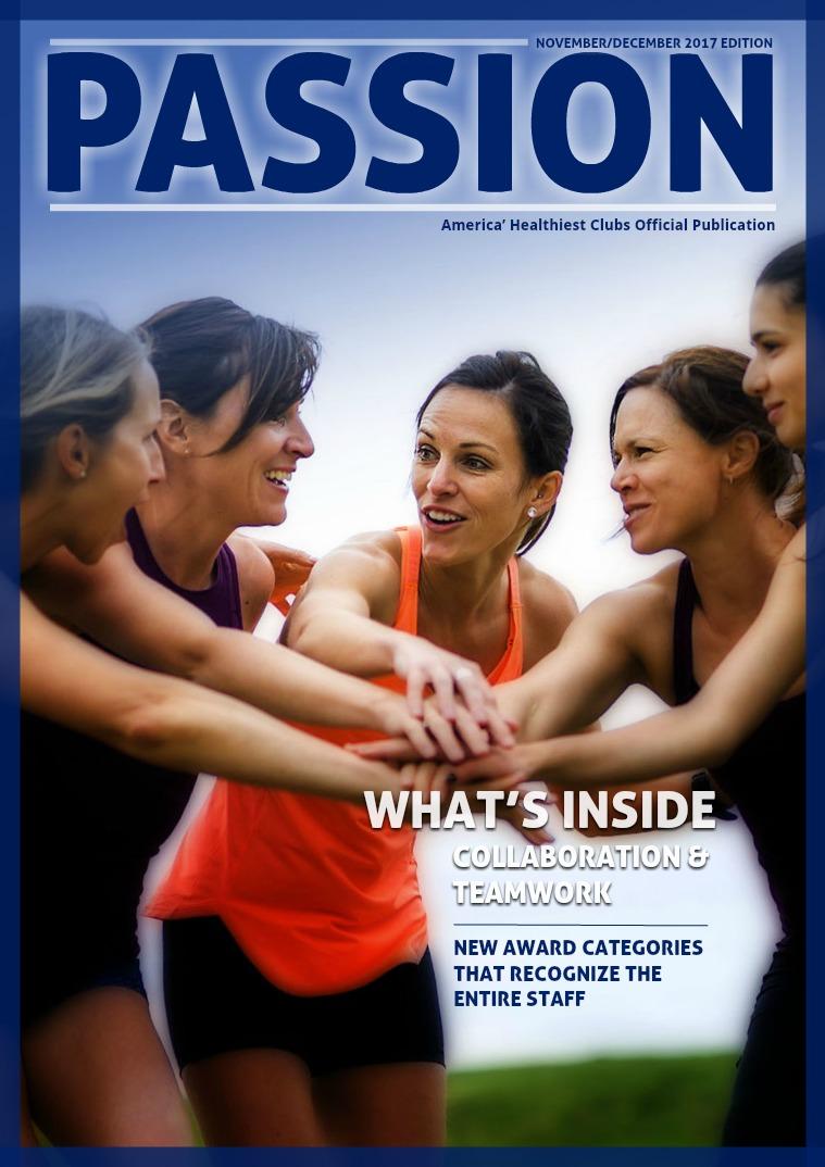 PASSION : Magazine November/December 2017 Issue